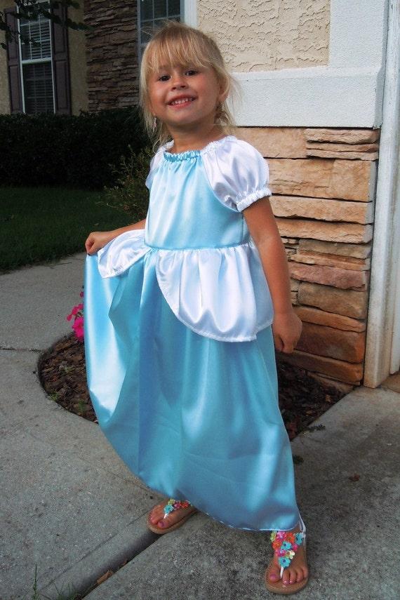 Princess Dress Cinderella dress up costume