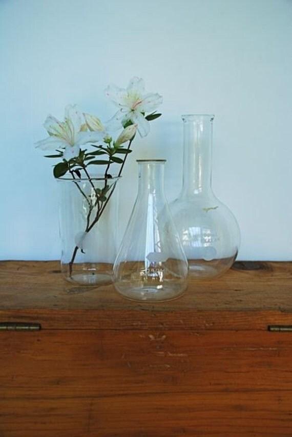 Vintage Pyrex Lab Vessels