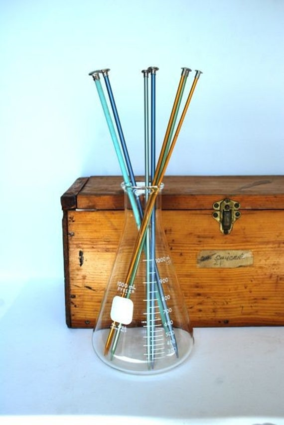 Vintage Pyrex Laboratory Flask