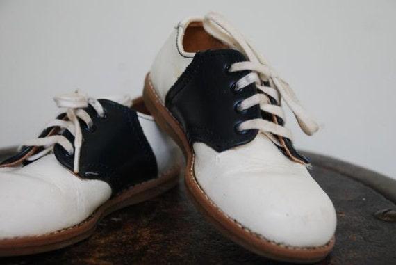 Child S Vintage Saddle Shoes Size 7 Toddler