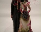 Victorian Style Zombie Cake Topper