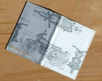 Moto Blanco Passport Case
