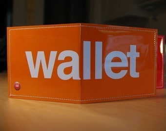 The Wallet - Orange