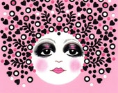 Parisian Polly--signed limited edition print