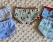 Waldorf Doll Clothes Boy Briefs Underwear -- You CHOOSE ONE Pair -- 15 16 Inch Boy Dolls