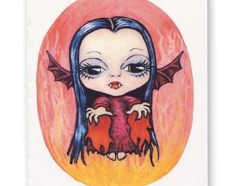 Vampire Pixie Card: Pixie Peeps Greetings