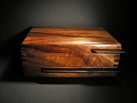 Vintage Custom Hand Made Exotic Koa Wood Elegant By