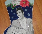 Giant Elvis Stocking not a licensed product