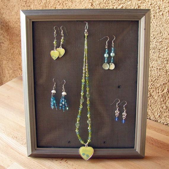 Custom Jewelry Display Frame