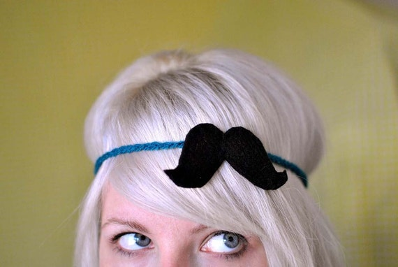 Headband Incognito v.2 - Moustache Headband