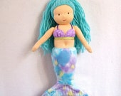 Waldorf-Inspired Mermaid Doll PDF Pattern