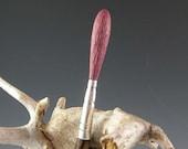The Artist Paintbrush - Purpleheart and Wenge Hair Stick