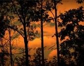 Fire Sky - 8X10 Fine Art Photograph