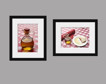 Italian Restaurant - Set of Two 5x7 photos