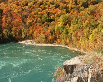Photograph - Swirling Whirpool Basin, Niagara Falls, Ontario, Canada