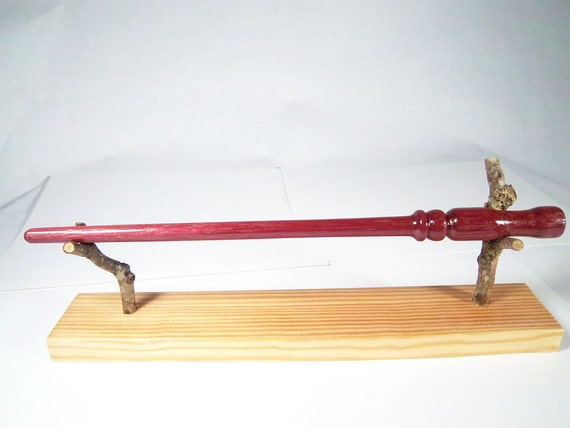 Handcrafted Magic Wand made from Purpleheart Wood