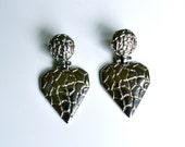 Vintage Broken Heart Earrings