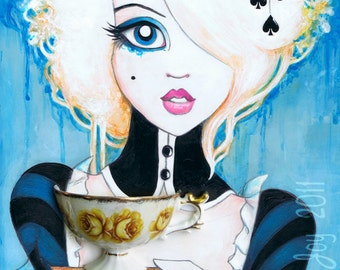 Alice In Wonderland 11x14 Fine Art Print