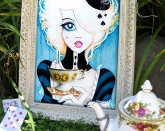 Alice In Wonderland 8x10 Fine Art Print