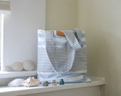 Simple Summer Stripe Tote