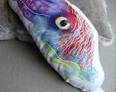Stuffed Cuttlefish Decorative Pillow Buddy