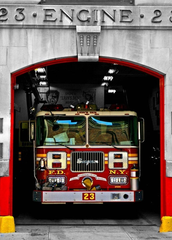 Items Similar To New York City Photography Fdny Fire