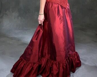 Late 19th Century Petticoat in Silk, small-2XL