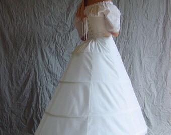 Hoop Skirt Mid 19th Century Antebellum Civil War
