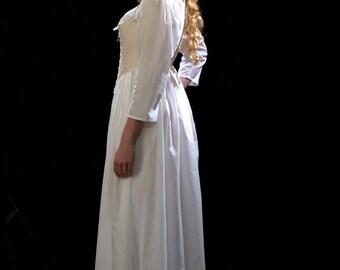 c. 1790 Historic Underwear Ensemble for Round Gowns