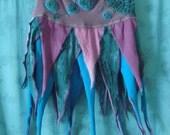 Made to order--  Peacock Woodland Goddess Wrap Skirt