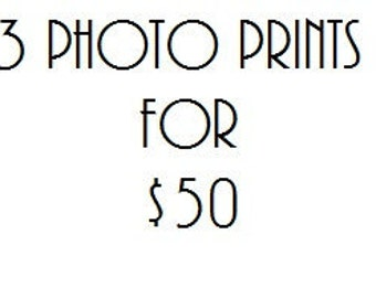 3 Photo Prints Bundle