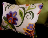 Not-your-grandmas floral pillows (lavender flower) SALE