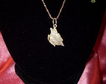 Sterling Silver Butterfly Flight Necklace