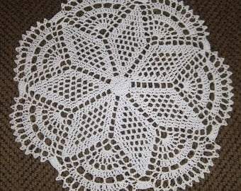 Doily in White
