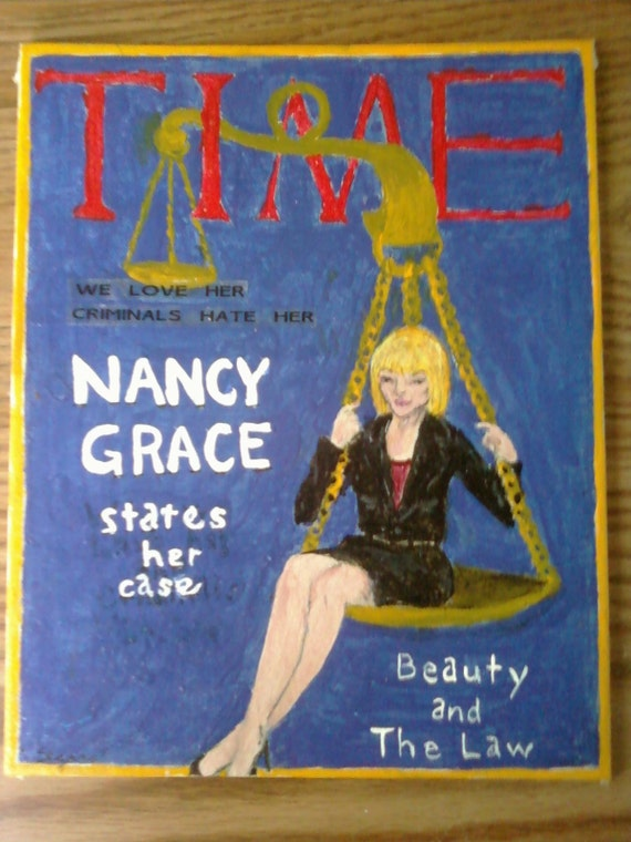 PIF FREE ART NANCY GRACE YOU PAY SHPPNG  20 CENT LISTING FEE