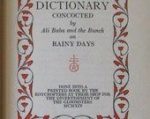 Roycroft Dictionary first edition of 1914