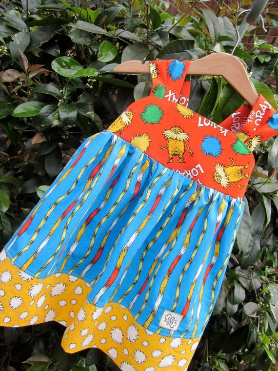 TOP.....LORAX  reverse knot TOP available in size 1 to size 7