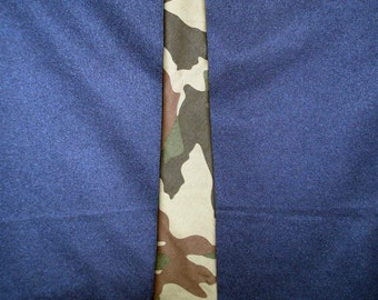 Traditional Camouflage Necktie