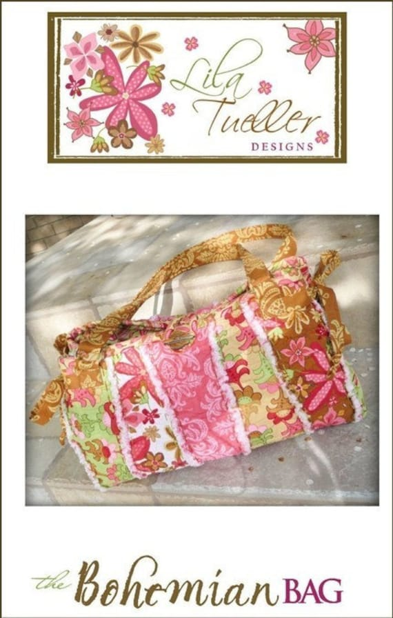 The Bohemian Bag Pattern By Designer: Lila Tueller