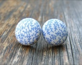 Wedgwood Print Earrings