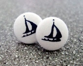 Nautical Ship Earrings