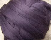 Roving Merino Wool - Plum - 8oz