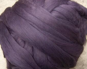 Roving Merino Wool, Wool Roving, Merino Roving, Ashland Bay Roving - Plum - 8oz
