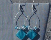 Ocean Spray Wire Earrings