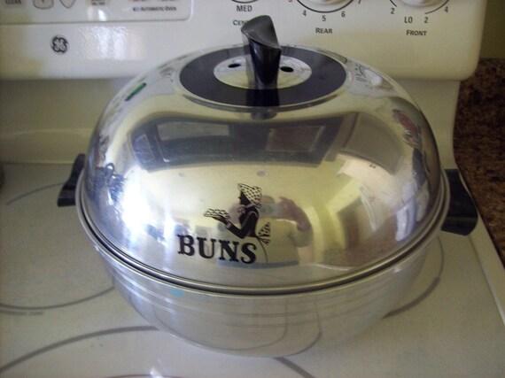 Vintage West Bend Bun Warmer Serving Oven