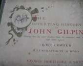 Antique Book The Diverting History Of John Gilpin