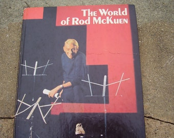 Vintage Book The World Of Rod McKuen Song Book