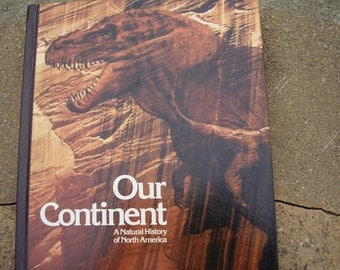Vintage Book Our Continent A Natural History Of North America