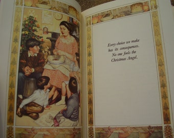 Vintage Book Seven Stories Of Christmas Love