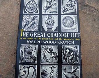 Vintage Book The Great Chain Of Life